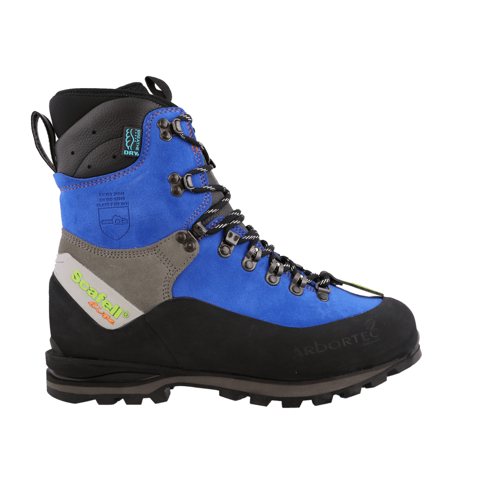 Red Scafell Lite Class 2 Chainsaw Boot